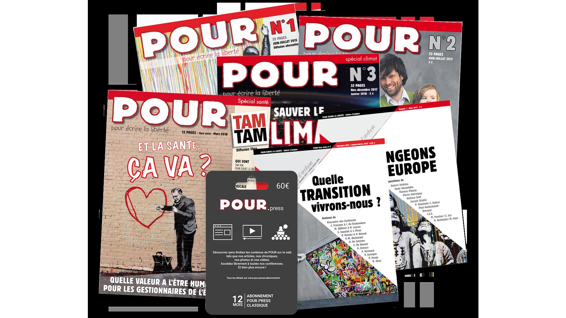 Acheter les journaux POUR - POUR - www.pour.press