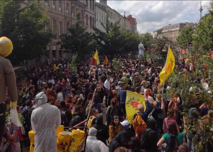 La lutte anti-nucléaire et sa répression en France : baromètre de la démocratie