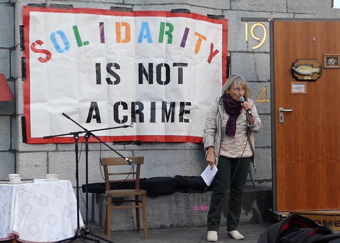 Solidarity is not a crime !