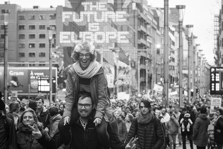 Manifestation Climat Bruxelles - Christophe Smets - La boîte à image - POUR - www.pour.press