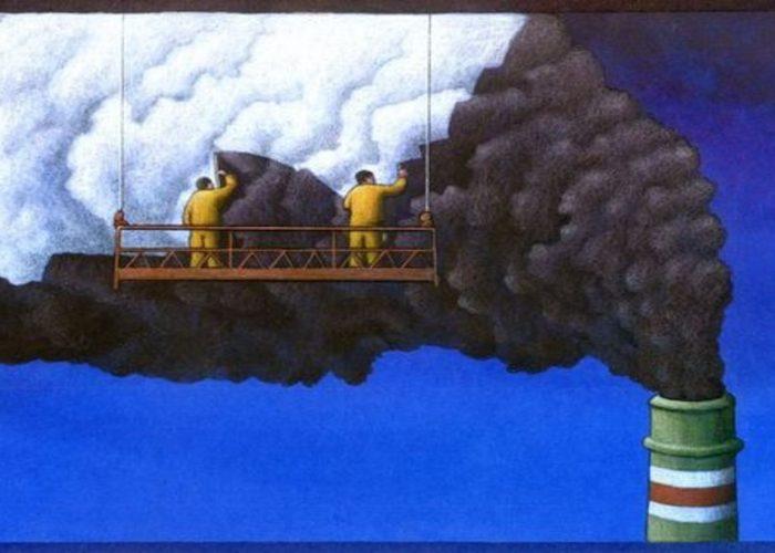 Le génie du lobby: transformer le gaz sale en énergie propre
