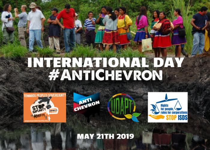 Réponse massive de la société civile internationale à la journée mondiale d'action #AntiChevron
