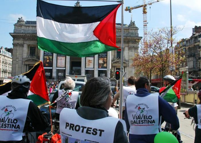 Mobilisation pour la Palestine occupée