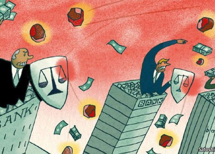 Sauver les banques, oui. Taxer la finance? Non