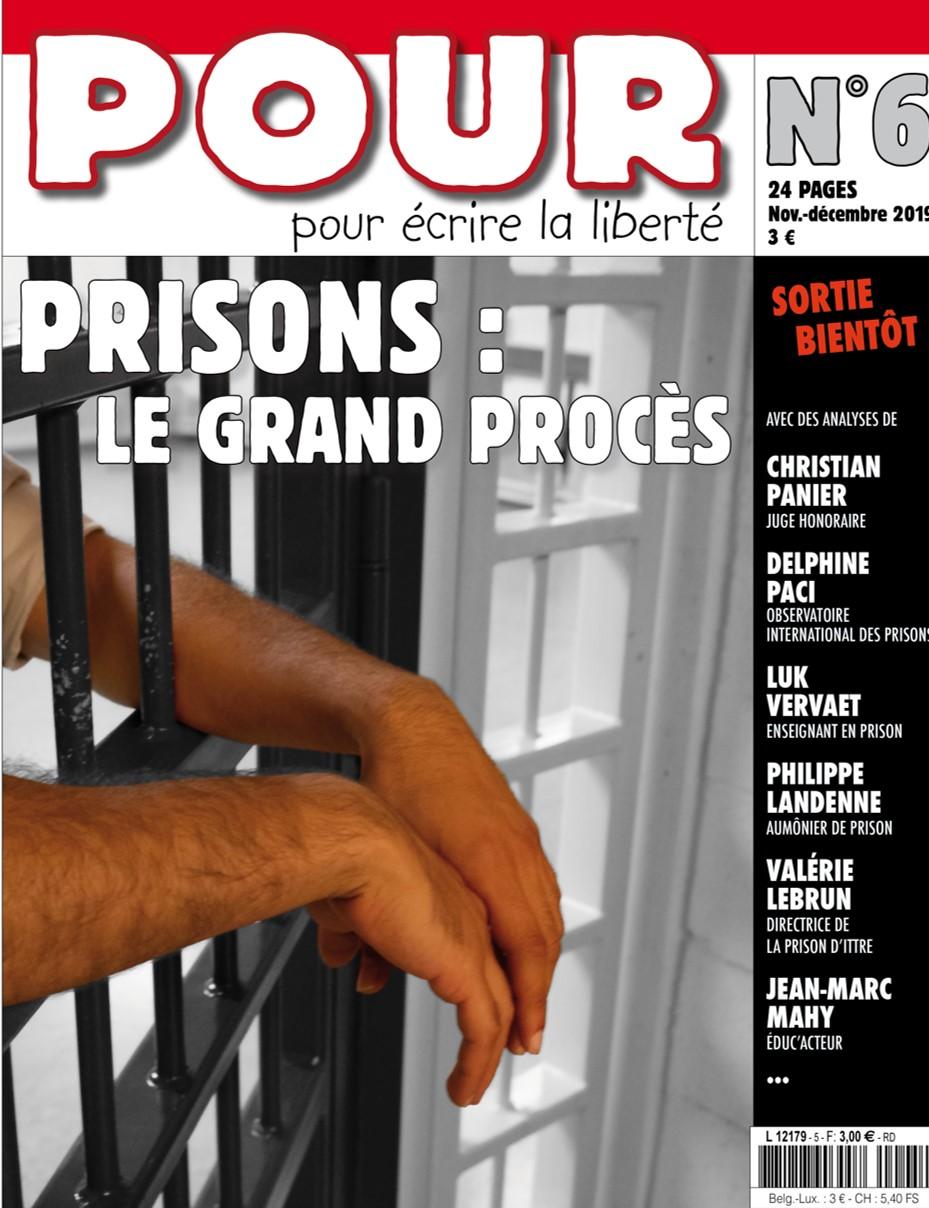 Couverture du journal POUR N°6
