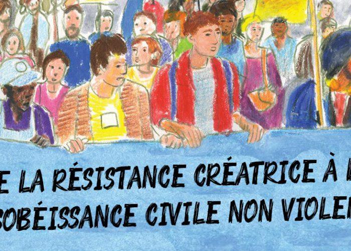 Café-débat : résistance créatrice et désobéissance civile non-violente