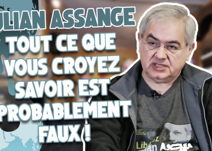 """""""Julian Assange n'est accusé de rien!"""" - Interview de Viktor Dedaj"""