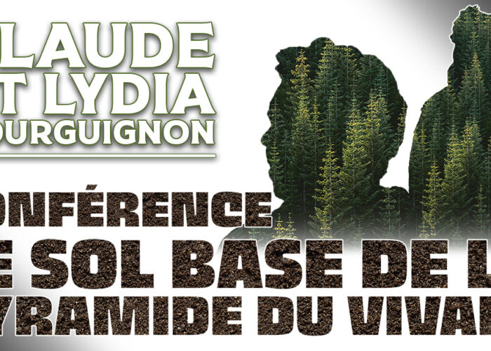 Conférence : le sol, base de la pyramide du vivant