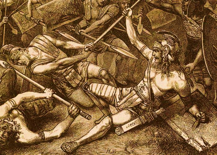 Les grandes révoltes d'esclaves : la révolte de Spartacus