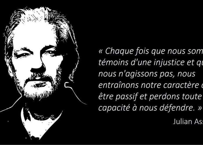 Au lait de l'anticonformisme - JULIAN ASSANGE