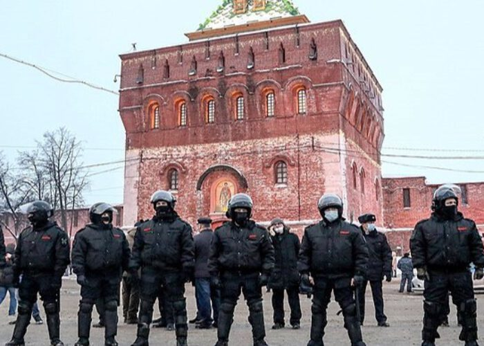 Soulèvements populaires en Russie: entre répression et abnégation