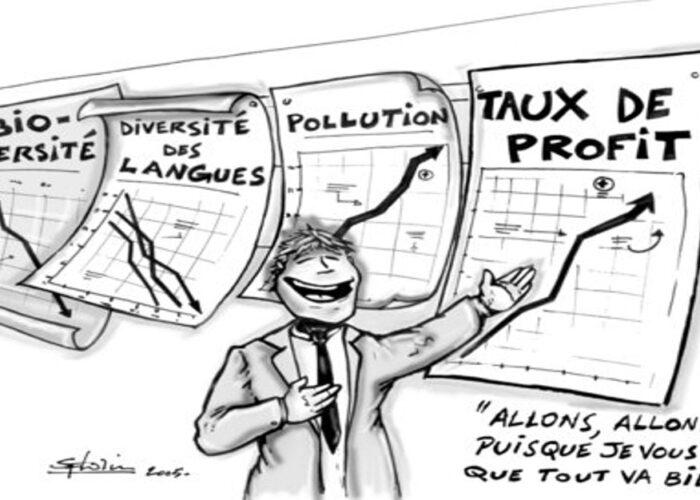 Sauver la planète : stop à la croissances et aux écoles d'économie et de commerce!