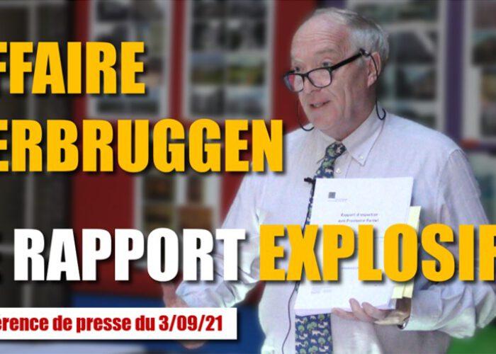 Affaire Verbruggen - Le rapport explosif